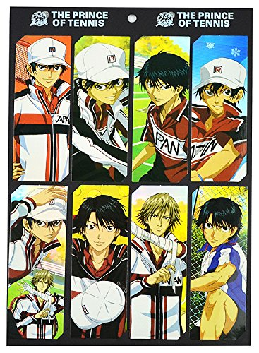 Prince of Tennis Anime 8pc Lesezeichen-Set (Prince Tennis Anime Of)