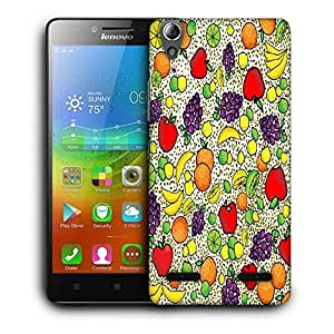 Snoogg Plenty Of Fruits Printed Protective Phone Back Case Cover For Lenovo A6000
