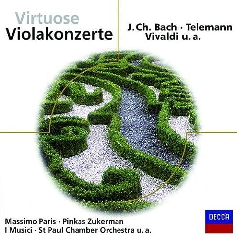 Virtuose Violakonzerte (Eloquence)