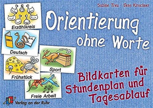 Orientierung ohne Worte: Bildkarten für Stundenplan und Tagesablauf