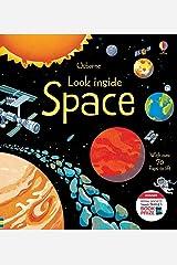 Look Inside: Space (Look Inside): 1 (Look Inside Board Books) Hardcover