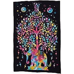 Funky Buddah 'Buddha Elefanten-Baum Mehrfarbig