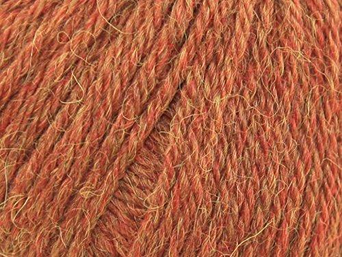 King Cole Baby Alpaka DK Strickwolle/Strickgarn, Rost 697–Pro 50g Knäuel