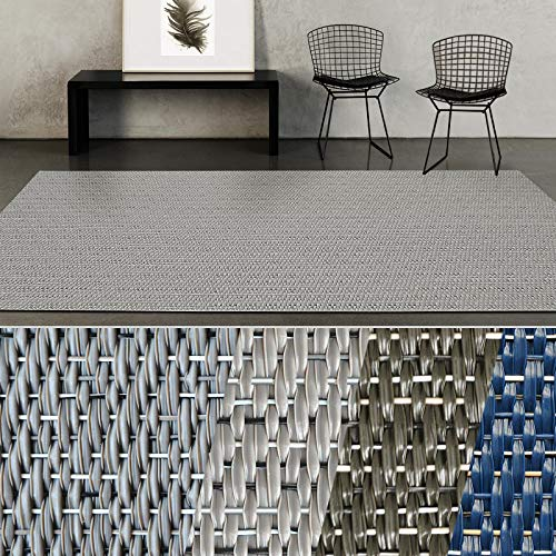 casa pura® Indoor- & Outdoor-Teppich Turin | Bodenbelag für Flur, Küche, Bad, Terrasse, Balkon, Garten | kunstvoll gewebt mit Schimmer Optik | Viele Größen (180x200 cm) (Indoor-küche Teppiche)