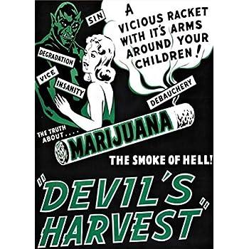 Propaganda Political Drug Abuse Marijuana Weed Weird Art