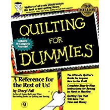 Quilting For Dummies?? (For Dummies (Computer/Tech)) by Cheryl Fall (1999-03-24)