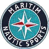 Club of Heroes 2 x Maritim Abzeichen 55 mm, rund/Nautik Sports für Segeln Tauchen...