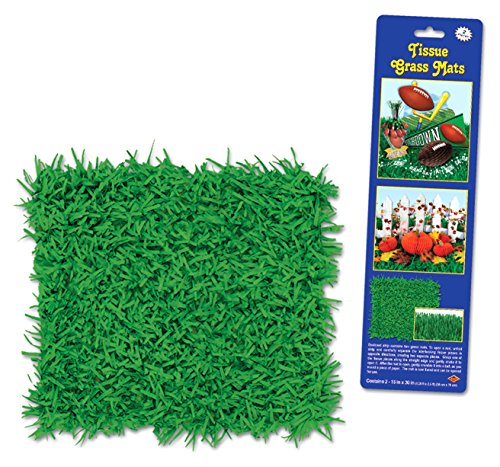 """Cave Quest Tissue Paper Grass Mat 15"""" X 30"""""""