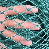 Mitefu Mehrzweck PE Pflanzen Spalier Netz Schwerlast Garten Netting Geflügel Zuchtnetz Anti-Vogel-Tennisplatz-Netz, 36 Stränge, Netting Größe:W2.4xL2.1m, Maschenweite:5x5cm
