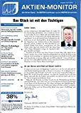 Aktien Monitor 4 2018 Micron Technology Aumann Siltronic Zeitschrift Magazin Einzelheft Heft Börsenbrief