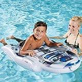 Unbekannt Star Wars aufblasbares Schwimmbrett mit Haltegriffen R2-D2 Form 116 x 73 cm • Luftmatratze Wasser Spielzeug Kinder Wasserspaß Strand