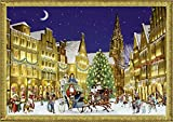 Coppenrath 'German Town at Christmas' A4 Traditional Advent Calendar