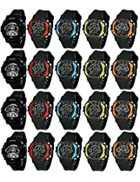 Brown Leaf ® Birthday Return Gifts For Kids Favourite Watch (Set Of 12 )Multifunction Digital Sports Smart School...