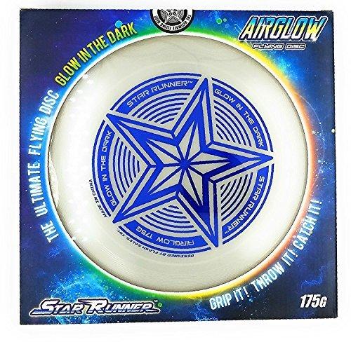 SLR Brands 175 Gramm Star Sport Glow in The Dark Flying Disc Frisbee