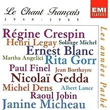 Le Chant Francais: Les années Pathé