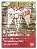 Ursus 17800001 - Adventskalender Chiara, blanko, 300 g/qm, 24 Boxen