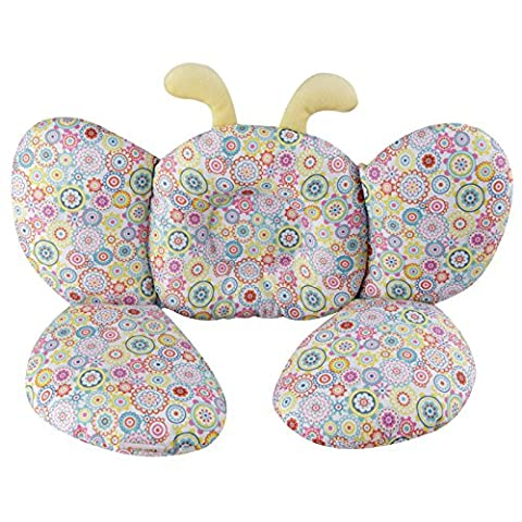 Baby Head and Neck Support Pillow, KAKIBLIN Infant Travel Pillow