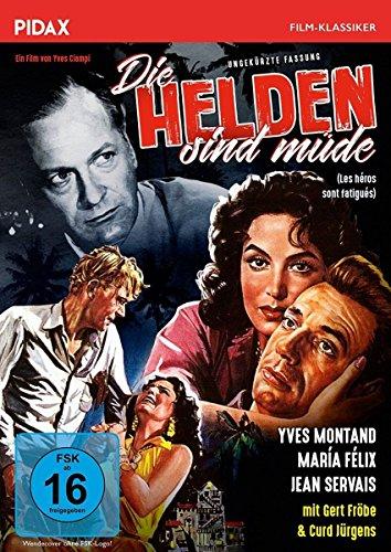 Die Helden sind müde (Les héros sont fatigués) / Preisgekrönter Abenteuerfilm mit Starbesetzung in ungekürzter Langfassung (Pid