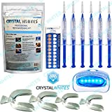 Professional Home Teeth Whitening Kit DENTAL LEVEL Gel & Complete Aftercare Instructions