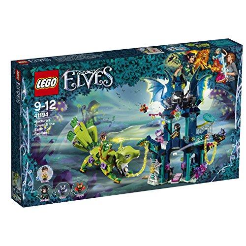 LEGO – 41194 – Elves – Jeu de Construction – le Sauvetage du Renard de la Terre