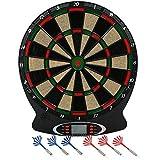 ColorBaby - Diana electrónica de 8 jugadores y 18 juegos - 37.8 x 43 cm (43095)