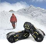 Crampon Antidérapent, EONPOW Walk Sur-chaussure Antidérapante 1 Paire Crampons Anti-verglas / Crampons Neige Pour Activités Aux Zones Mmouillées et du Ski