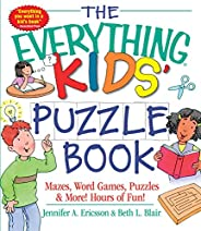 The Everything Kids' Puzzle Book: Mazes, Word Games, Puzzles & More! Hours