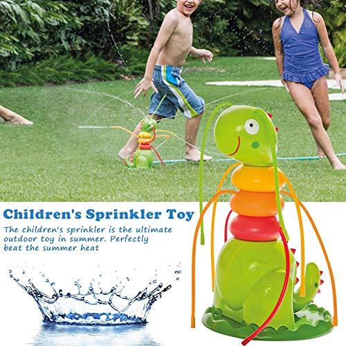 evergremmi Caterpillar Water Sprayer Sprinkler für Kinder, Outdoor Sprinkler Spielzeug Hof Kinder Spray Wasser Spielzeug Sprinkler Spielzeug Swimming Party Beach Pool Spielen für Kinder Kinder