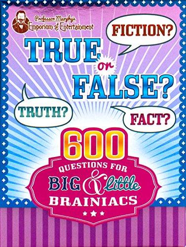 Professor Murphy's Quiz Cards - True or False? (Professor Murphy Cards)