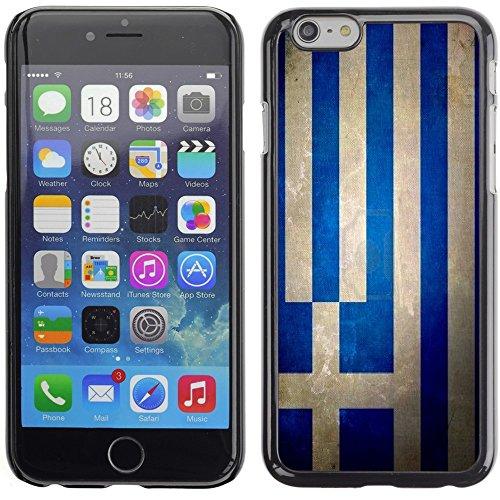 Graphic4You Vintage Uralt Flagge Von Kroatien Kroatisch Design Harte Hülle Case Tasche Schutzhülle für Apple iPhone 6 Plus / 6S Plus Griechenland Griechisch