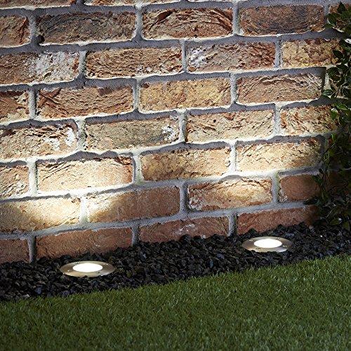 Biard Foco de Suelo Vilanoveta de Suelo Interior/Exterior Redondo IP67 GU10