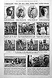 Stampi la Recinzione delle Notizie Aftiche della Gente del Tappeto Erboso del Tennis dell'IRA delle Stagnole 1922 176P260