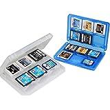 Mein HERZ 2 Pz Scatola di Immagazzinaggio Giochi Nintendo Scatola di Immagazzinaggio di Carte Custodia Protettiva in Plastica