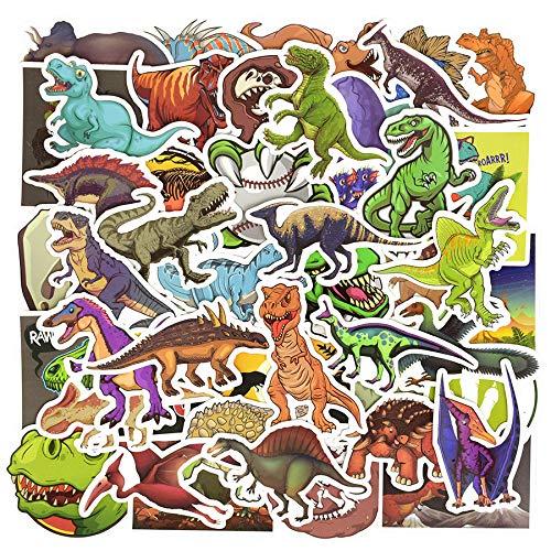 AKDSteel 50PCS/Set Dinosaur Sticker Cartoon Jurassic Animal Educational Toys Stickers for Children