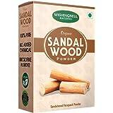 Wishingbell Natural Organic Sandalwood Powder For Face Skin Whitening 100 Grams | Chandan powder Pure & Natural Face Pack, fa
