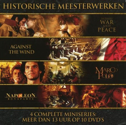 Historical Masterpieces Collection (4 Complete Mini-Series) [10 DVDs] [Holland Import]