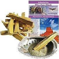Palo Santo | 12 Sticks + Räuchersand + Räuchermuschel | Heiliges Holz Indianer Räucherwerk #81055 | MIT Booklet... preisvergleich bei billige-tabletten.eu