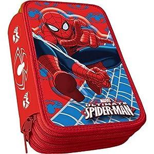 Plumier 3D Spiderman Marvel Ultimate triple