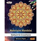 Malerische Mandalas: Malbücher für Erwachsene | Mitternacht Edition