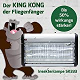 Elektrischer insektenvernichter | Insektenlampe | Fliegenfänger SK333-30 Watt - 3000 Volt