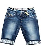 Jeans Shorts Boxer États-ID1219 Hommes