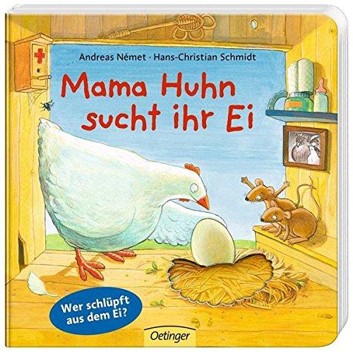 Mama Huhn sucht ihr Ei (Huhn Ostern Ei)