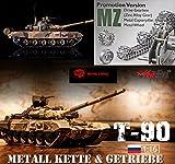 Heng Long | RC Panzer T90 1:16 |mit Metall Getriebe METALLKETTE Rauch Sound|Olaydo.de
