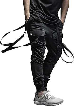 XYXIONGMAO Cargo Hip Hop Pants Streetwear 2021 Black Joggers for Men Tactical Gothic Japanese Street Style Pants