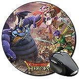 Dragon Quest Heroes II Tapis De Souris Ronde Round Mousepad PC