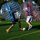 Befied Bubble Soccer Bubble Bälle Bubble Football Bumperball aus TPU (Gepunktet Blau)