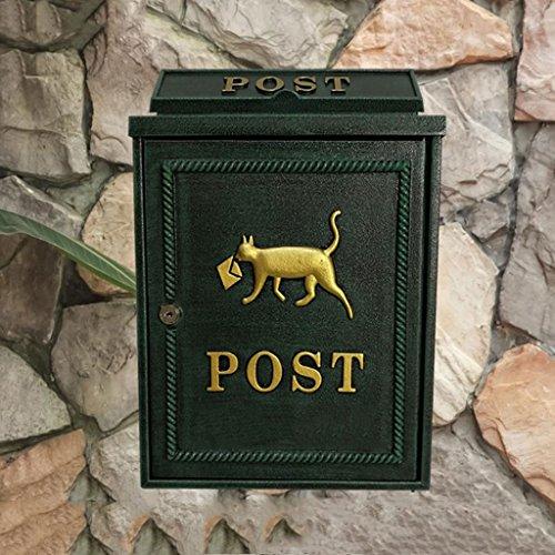 Mailbox Villa Im Freien Wand Hängen Wasserdicht Magazin Zeitung Gemeinde Meinung Briefkasten Briefkasten ()