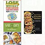 vegan richa's everyday kitchen, vegan cookbook for beginners and lose weight for good: the diet bible 3 books collection set - new vegan diet essential recipes,101 lasting weight loss ideas