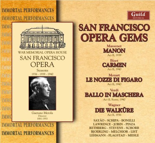 San Francisco Opéra Gems
