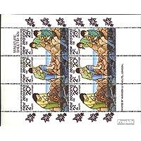 Prophila sellos para coleccionistas: Nueva Zelanda 828-830 Sheetlet (completa.edición.) nuevo con goma original 1981 salud